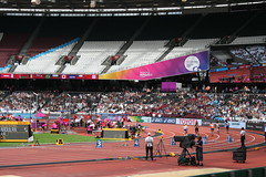 T44 Womens 200m Heat 1 (h_savill) Tags: london 2017 world para athletics championship stratford july stadium competition compete athelete atheletics disability spectator aport track field seat crowd olympic park t44 womens 200m heat