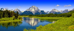 BBEST OXBOW BEND SNAKE RIVER TETONS PAN2 (Gerry Slabaugh) Tags: gerryslabaugh tetons grandtetons wyoming snake river