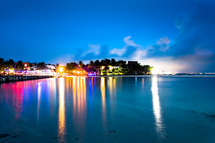Isla Mujeres (brian.pipe) Tags: nikon d500 sigma 17 50 mexico cancun isla mujeres night lights water