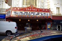 Castro Classic (-»james•stave«-) Tags: sanfrancisco sf california ca castro street theatre marquee historic landmark artdeco palace movies cinema revivals neighborhood singalong words letters text reflection color red nikon d5300