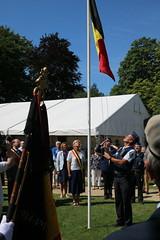IMG_3126 (Patrick Williot) Tags: waterloo fetes communal parc juillet discours drapeau