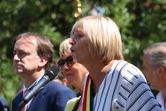IMG_0187 (Patrick Williot) Tags: waterloo fetes communal parc juillet discours drapeau