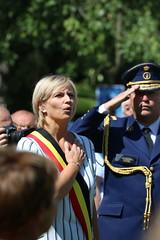 IMG_0179 (Patrick Williot) Tags: waterloo fetes communal parc juillet discours drapeau