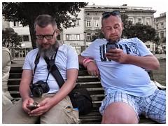 2017. Lviv. Ukraine (bobobahmat) Tags: face smartphone gadget photo men man street city people portrait ukraine lviv life