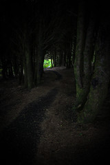 Into the heart of darkness (Mstraite) Tags: tunnel nature trees thor thors fairy tale landscape canon dark scary summer leading line sinister evil