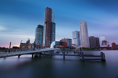 Het blijft een gok (zsnajorrah) Tags: urban architecture skyline skyscrapers bridge water sky clouds motion sunset longexposure neutraldensityfilter nd filter breakthroughphotography x3nd10 x4nd3 tiffen gradnd gnd softgrad 7dmarkii efs1018mm netherlands rotterdam rijnhaven rijnhavenbrug kopvanzuid wilhelminapier hotelnewyork montevideo worldportcenter neworleans derotterdam maastoren