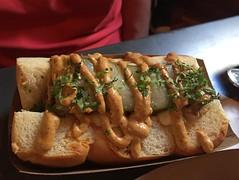 Jersey City: Würstbar - Soy Cubano (wallyg) Tags: foodporn jerseycity newjersey restaurant sausage soycubano würstbar wurstbar
