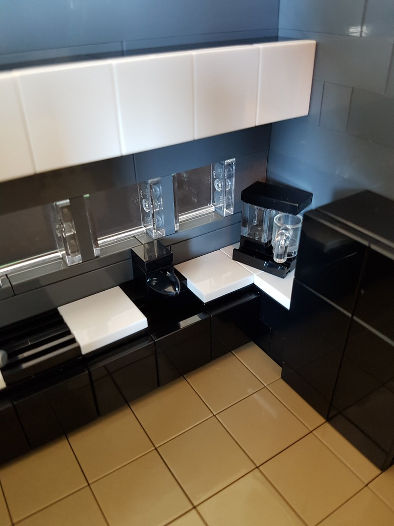 Lego Minifigure Moc Kitchen Table