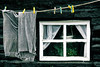 Hanging laundry 10 (LBM0) Tags: drying hangingouttodry trousers window clothespins