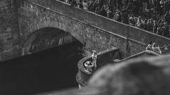 ..:: mini shooting ::.. (bora_binguel) Tags: streetphotography blackwhite franken deutschland bridge europa people germany schwarzweiss menschen bayern querformat sw bw bobidigitalphotography almanya brücke blackandwhite bavaria würzburg köprü bnw unterfranken