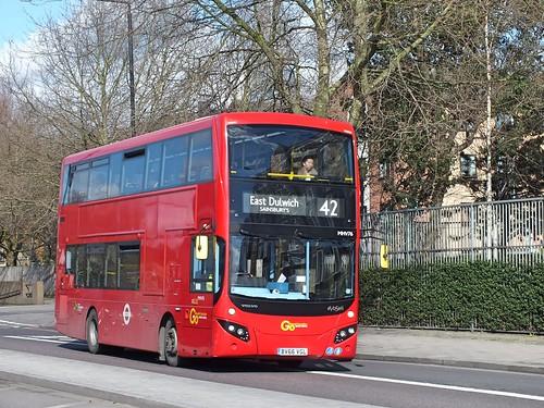 Go Ahead London Central - MHV76 - BV66VGL