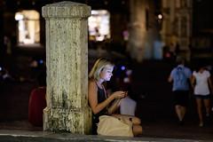 """ Street photo in Siena "" (pigianca) Tags: italy siena piazzadelcampo ilcampo streetphoto urbanphoto fujixt1 fujinon90mmf2 portrait"