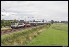 CT 1621 + 1619 - 46268 (Spoorpunt.nl) Tags: 23 juli 2017 captrain raillogix 1621 1619 psa autotrein trein 46268 terschuur