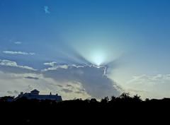 Sun, Cloud, & Sky (austexican718) Tags: texas sky cloud light atmosphere treeline horizon contrast backlight
