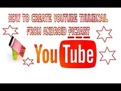 How To Make Youtube Thumbnail On Android With Picsart (mimonir) Tags: how to make youtube thumbnail on android with picsart