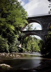 Menoge (alOuest Deden) Tags: france hautesavoie landscape paysage sel35f28z sonycarlzeiss3528 sonyilce7 bridge expositionlongue longexposure pont