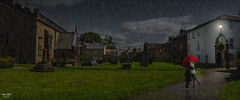 We kissed in the rain (Kev Walker ¦ From Manchester) Tags: architecture building canon1855mm canon700d clouds cumbria england hdr historic kirkbylonsdale picturesque postprocessing riverlune southlakeland town westmorland church rain