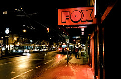 Fox Cabaret (MassiveKontent) Tags: club night streetlights noir vancouver urban city streetphotography britishcolumbia vancity vancouverisawesome veryvancouver vancouverbc pacificnorthwest