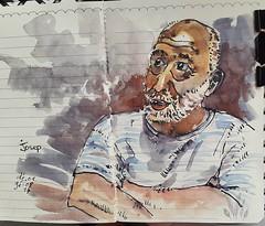 Josep for JKPP (dege.guerin) Tags: dessin jkpp portrait aquarelle
