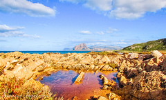 The Colours of Nature (Francesco Impellizzeri) Tags: trapani sicilia landscape canon clouds rocks seascape ngc