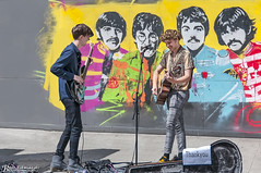 Street Musicians (Bob Edwards Photography - Picture Liverpool) Tags: liverpool fab4 beatles john paul george ringo singer singers music performancestreet entertainment