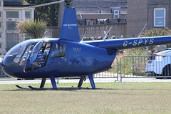 G-SPYS (jacoblee853) Tags: helicopter robinson r44 raven ii gspys landed elitehelicopters