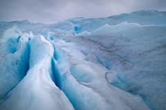 Slits in Perito Moreno Glacier (Gustavo Almeida Couto de Andrade) Tags: patagonia patagônia argentina elcalafate peritomoreno glacier glaciar geleira ice gelo hielo hieloyaventura aventura rock rocks rocha water blue walk ruta40 cordilheiradosandes cordilleradelosandes