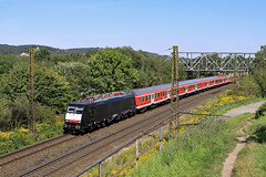 189 843 (René Große) Tags: eisenbahn railways train personenzug zug reisezug regionalbahn rb 189 siemens elok lok lokomotive naumburg saale sachsenanhalt deutschland germany