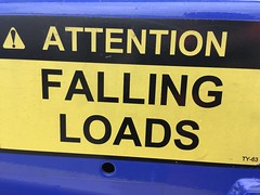 attention falling loads (timp37) Tags: sign attention falling loads