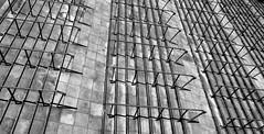 Steps (PeskyMesky) Tags: london blackandwhite arsenal emiratesstadium emirates steps shadow bw monochrome pattern