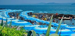 Ischia blue beach