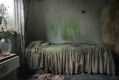 Enjoy your stay (Andre govia raw single shot) Tags: andre govia bed abandoned amazingdecay house hotel damp explore exploring mold urban derelict