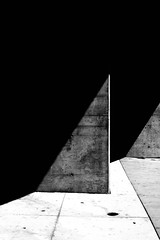 Untitled 344 (Takako Kitamura) Tags: abstract blackwhite geometry shadow highcontrast