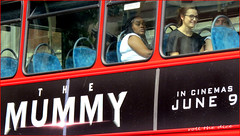 `2046 (roll the dice) Tags: london londonist westminster westend w1 people natural black girl pretty sexy mummy bus passenger travel transport red film movie advertisment glass windows reflection uk art classic urban unaware unknown canon tourism tourists streetphotography mad sad fun surreal portrait strangers candid cinema glasses seats crowd