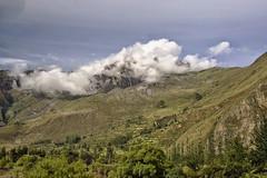 DSC_1060c2 copy3 on the way to Macchu Pichu Peru (camera30f) Tags: macchu pichu mountains citadel latin america peru day daylight clouds white blue skiies sunny weather green vegetation scenery