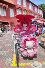 """The best tuck tucks I have ever seen are in Malacca/Melaka. So colorful and playing music all the time while touring. Love it 🌈  Malaysia  July 2017 #itravelanddance • <a style=""""font-size:0.8em;"""" href=""""http://www.flickr.com/photos/147943715@N05/35201985553/"""" target=""""_blank"""">View on Flickr</a>"""