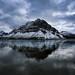 Bow Lake & Mount Jimmy Simpson