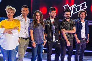 Presentación 'La Voz 5' y 'La Voz Kids 4'