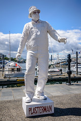 Victoria Busker Festival 2017: Plaster Man (Cameron Knowlton) Tags: canada buskers 2017 plasterman victoria busker festival nikon street performers bc d610 plaster man performer buskerfestival streetperformer streetperformers
