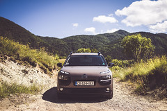 Cactus 2 (martinyanakiev) Tags: citroen cactus mountains cars shoot automobiles rural dirt raly