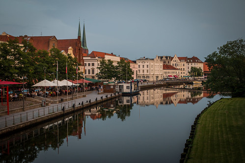 Summer evening in Lubeck