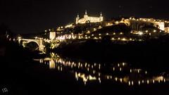 Toledo, Castilla la Mancha. España (:) vicky) Tags: night nocturna olympus toledo castillalamancha light landscape
