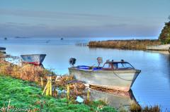 Lough Neagh fishing boats (rtstewart000) Tags: loughneagh bannfoot riverbann lurgan portadown boats fishing eels perch roach bream ferry abandoned closed ferryman barge vividandstriking