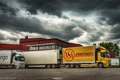 NSA II (johan.bergenstrahle) Tags: 2017 finepics umeå evening fordon hdr juli july kväll lastbil långtid mercedes nsa sverige sweden truck vehicle
