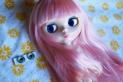 DSC02917 (Lindy Dolldreams) Tags: blythedoll custom doll pink eyes
