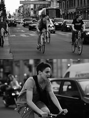 [La Mia Città][Pedala] (Urca) Tags: milano italia 2017 bicicletta pedalare ciclista ritrattostradale portrait dittico bike bicycle nikondigitale scéta biancoenero blackandwhite bn bw 102642