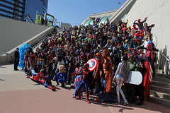 SDCC 2017 - Marvel Cosplay Meet-Up [2] (W10002) Tags: marvel cosplay thor cyclops wolverine spiderman captain america captainamerica sdcc sdcc2017 sdcc17 sandiegocomiccon san diego comiccon 2017