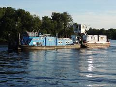 2426 (ENI 05603890) mit Domtrans-1 (Parchimer) Tags: schubboot pushboat towboat pousseur pchacz duwboot spintore empurradorfluvial binnenschiff tolómotorhajó pushertug berlin spree