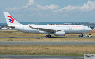 China Eastern Airlines Airbus A330-243 B-6537 (893053)