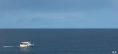 White drop in the big blue... (nikos_frantzeskakis) Tags: seascape seaside sea bluesea blue greece crete fisherboat boat
